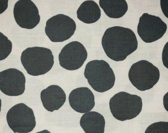 "31"" Brandon Mably BM05 Dapple Black Kaffe Fassett Collective Designer Quilting Polka Dot Rowan Westminster Quilt Fabric"