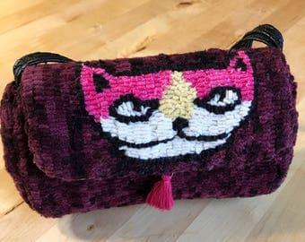 Handmade Kitty Purse