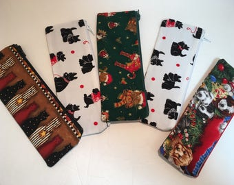 Holiday Pencil Reader Cases