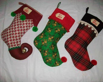 Christmas Decorator Stocking C102