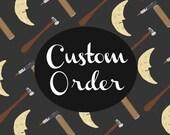 Custom Order for octo3631