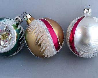 Vintage Christmas Ornaments 1960's