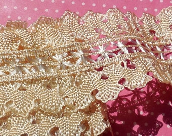 Antique Lace Trim Vintage Lace Trim Unique Silk Passementerie