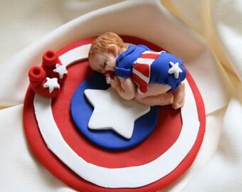 Captain america cake Etsy