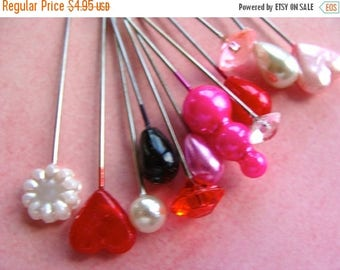 ONSALE One Dozen Pretty Valentine Stick Pins