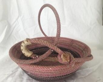 DE Lariat Rope Basket