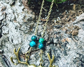 Oh My Deer Necklace