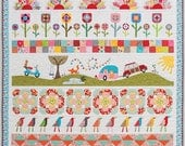 Pipers Girls Row by Row Quilt Kit all rows and sashing Book with patterns sold separately