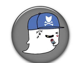 """Ghostie 1.25"""" Button"""