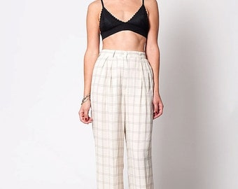 40% OFF The Vintage JCrew Preppy Beige High Waisted Trouser Pants