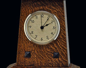 Mission clock etsy for Small clocks for crafts