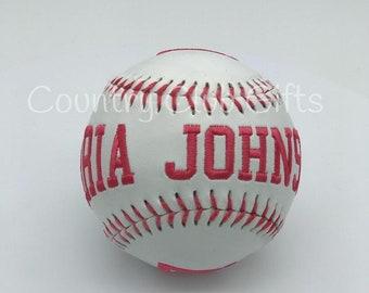 Baseball MVP | Personalized baseball | Baseball Mom | Little league | embroidered baseball | Commemorative Baseball | Baseball decor | Coach