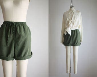 forestry drawstring shorts