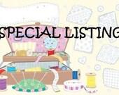 Special Listing for MissSuzieatHome