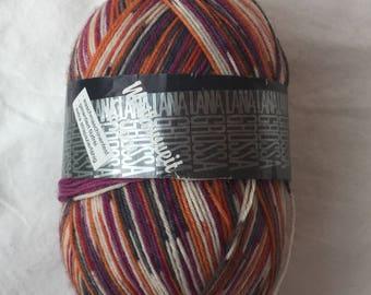 Meilenweit Safari sockmyarn from Lana Grossa