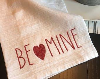 Valentines Day Tea Towel