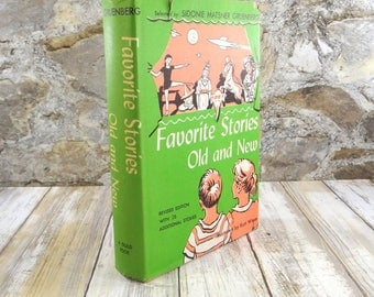 Favorite Stories Old and New, Children's Hardcover Book from 1955