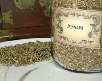 Damiana Herb~Love~Astral Travel~Vitality~Planet Pluto~Element of Fire~One Ounce Package