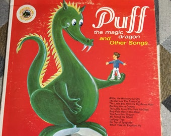 Vintage 1978 Puff the Magic Dragon and Other Songs Album
