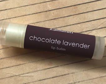 Chocolate Lavender Lip Balm