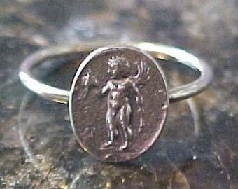 14K Cupid ring