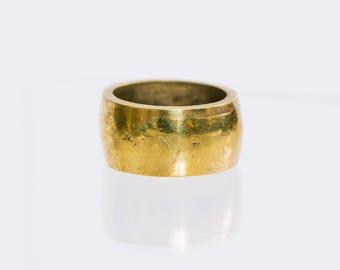 Thick brass ring - PREORDER