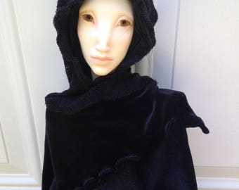 Shadow Cape for SD and 70cm dolls