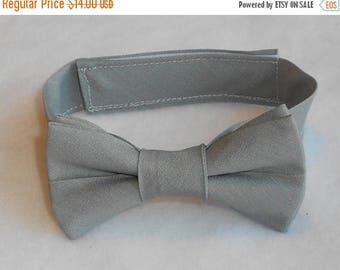 SALE Gray Bowtie - Infant, Toddler, Boy                                  2 weeks before shipping