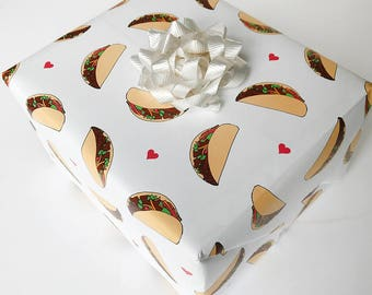 Taco - 3pc roll - wrapping paper
