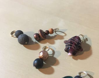 Mixed bag of stitch markers