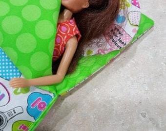 Barbie sleeping bag # 1