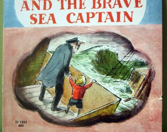 Little Tim and the Brave Sea Captain, Edward Ardizzone, 1968 Softcover, Scholastic, Hard to Find