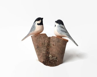 Anniversary gifts for wife couple gift 5th anniversary gift for her wedding gift engagement gift chickadee birds 1st anniversary