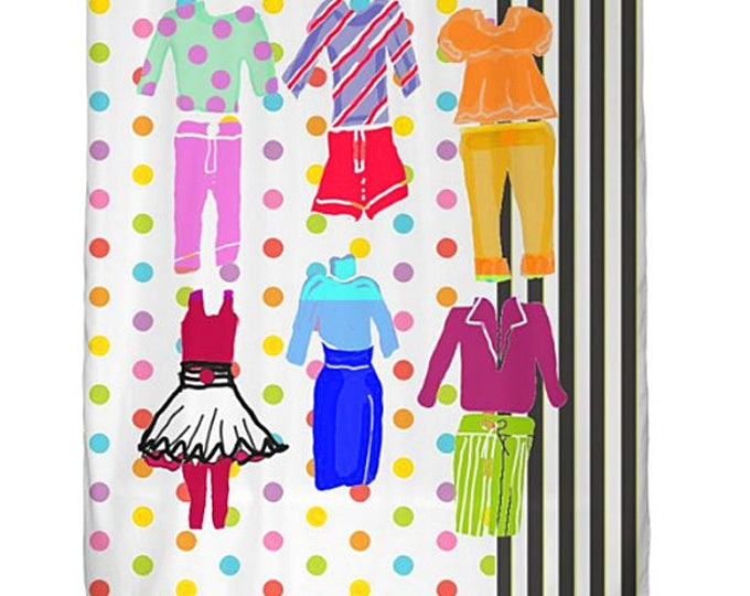 Shower Curtain, Customized Shower Curtain, Teen Bed and Bath Collection, Graduation Gift, Grad Gift, Dorm Decor, Bathroom Decor