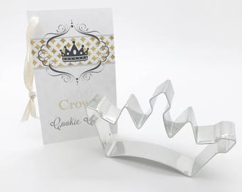 Crown Cookie Cutter, Daughter of a King, Born to be a queen, Princess crown cookies, Princess party Favor Gift, royalty, once upon a time