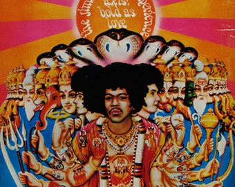 The Jimi Hendrix Experience, Axis: Bold As Love Vinyl Record Lp 1968 Re Release 1979 RS 6281 Stereo Classic Psychedelic Rock NM Vin/VG Cover