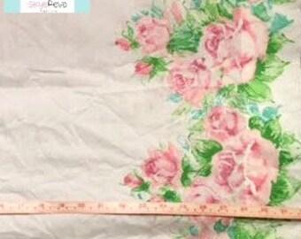 Vintage Border Floral Pillowcase