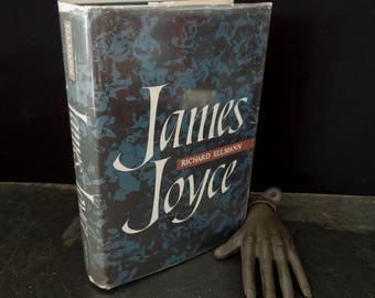 James Joyce by Richard Ellmann - First Edition 1959 Oxford Press - Hardcover with Dust Jacket - Biography