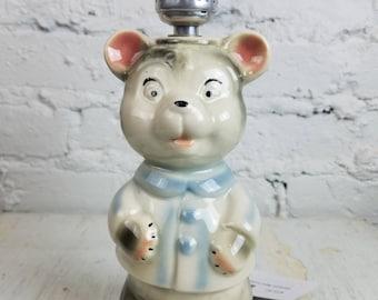 Ceramic Bear Lamp - Works Great