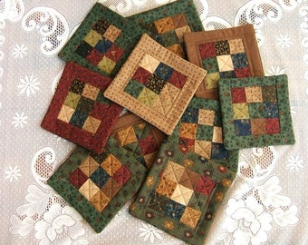 Ten Candle Mats, Table Mats, Party Favors, Stocking Stuffers  (Item # 227)