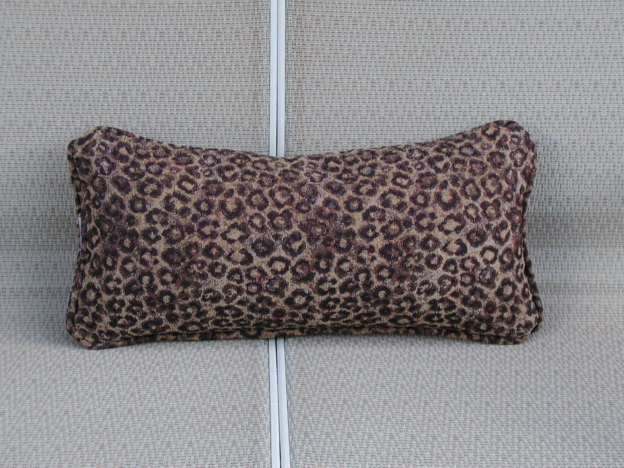 Animal Print Lumbar Pillows : Leopard Lumbar Pillow Animal Print Lumbar Leopard Throw