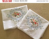 Pair of new vintage pillowcases by Boolchand Estate Find
