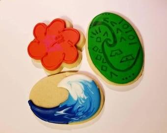 Moana Inspired Cookies (3 dozen)