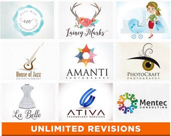 Logo Design Branding, Logo Design, Jewelry Logo, Photography Logo, Graphic Design, Watercolor Logo, Watermark, Gold Foil, Branding Logo, .