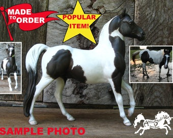 Breyer Horse CUSTOM MADE to ORDER 6 Inch Classic Figure, Made To Your Specifications Custom cm Dream Horse Painted Portrait Model Horses