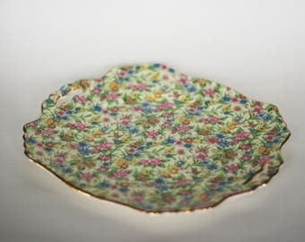vintage royal winton chintz plate made in england