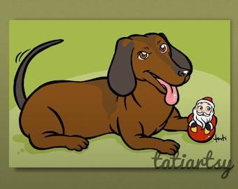 Digital PET CARICATURE - A Cartoon of Your Pet - Personalized Cartoon Caricature - Custom Pet Caricature by Tati Viana
