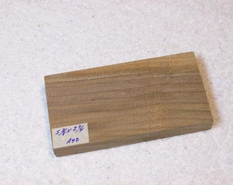 Black Walnut Board / Lumber / Beautiful Grain Walnut / 5 3/8 X 2 3/4 X 3/4 Inches / A42