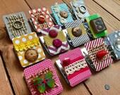 Decorated Refrigerator Magnet Clips, Strong Magnets, Homeschool Decor, Cute Fridge Magnets, Clip Magnet Set, Kitchen Magnets - 1 Magnet