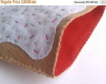 FLASH SALE Strawberry Poptart iPad cover, cozy or case